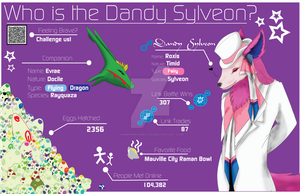 About Dandy Sylveon and Base Challenge by vampirekingroxis