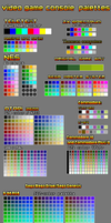 Video game Consoles palettes by Roman-SS-Squall