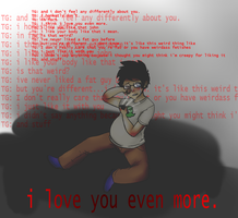 Love you even more. by HiddenFiction