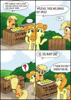 Golden apples 2 by CIRILIKO