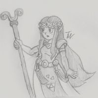 Princess Hilda by SuperGon-64