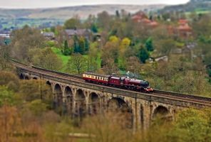 Uppermill Tilt Shift by irwingcommand