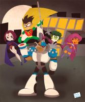 Teen Titans by Captain-Paulo