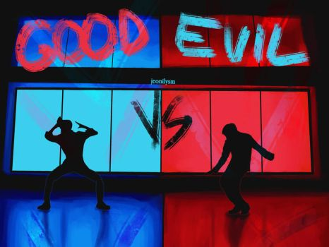 good vs evil by Jungkuk