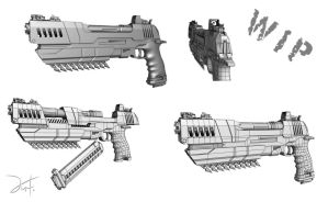 Hightech Deagle Wip by The-5