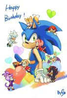 HB TO SONIC by ShadeShark