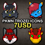 Trozei icon commissions by Siplick