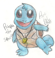 Palaqua the Squirtle by Proshi