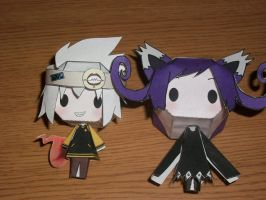 Blair and Soul Papercraft Doll by Vee-Vii