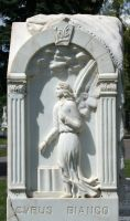 Mount Olivet Cemetery Angel 196 by Falln-Stock