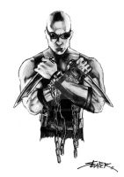 Richard B. Riddick by reaper-555