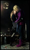 Hawkeye and MockingBird...I love you by JonathanDuran