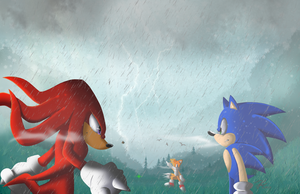 Search at blue ridge zone: Team Sonic by Sheshin