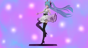 [MMD x Vidro]  World Is Mine TDA Miku Figma by ThaamiChan