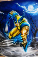 Wolverine Airbrushed by selever2000