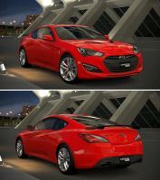 Hyundai Genesis Coupe 3.8 Track '13 by GT6-Garage