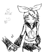 Pchat - Kagamine Rin by paxiti