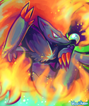 Illusionary Inferno by Bluwiikoon