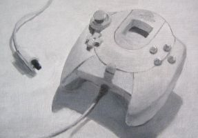 Dreamcast controller painting by thgrup