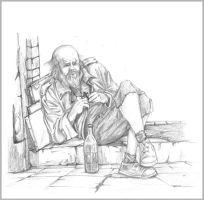 The old man by mirchiz
