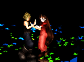 Aerith and Cloud Download by Pucaroo16