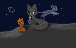 Among the Stars by Cat-Creator