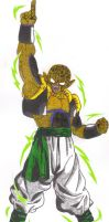 Pikcolo (Legendaire Super Namek 3rd form) by DBZ2010