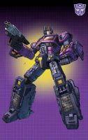 shattered glass Optimus Prime by Dan-the-artguy