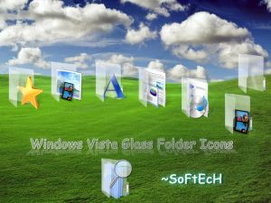 Vista Glass Folder Icons by sahtel08 Iconos para Windows XP