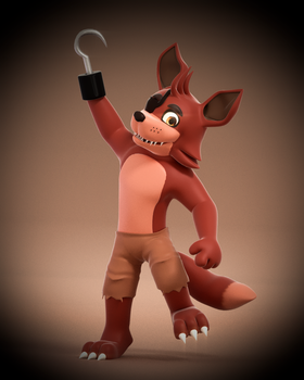 Here's Foxy! by SmashingRenders