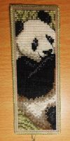 Panda Bookmark by Devi-Tiger