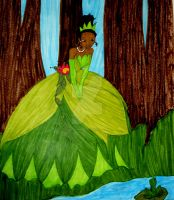 Princess and the Frog by InkArtWriter