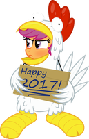 Special announcement from Scootaloo! by Comeha