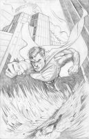 Superman Pencils by KileyBeecher