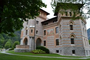 Ceconi Castle (Italy) by Wendybell80