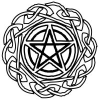 Wiccan Star Tat by lycan-spirit