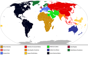 World Powers Map - 2035 A.D. (with key) by Anzac-A1