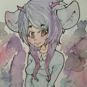Pastel Babe by SinnersOfTheHeart