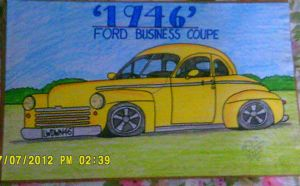 1946 Ford by artluvr4life