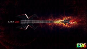 B.C Rich Widow by AknotK