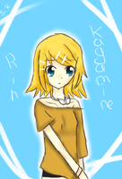 kagamine rin new clothes by saphred33