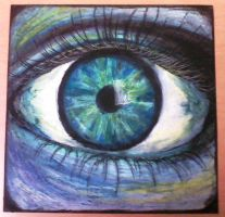 Pastel Crazy Eye by sandwichinme