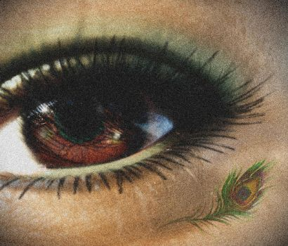 Peacock Eye by SweetlyInsanexD