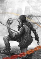 infamous delsin rowe by lproctober