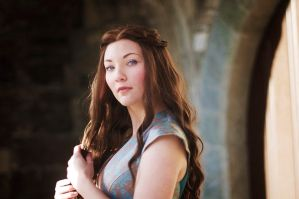 Margaery Tyrell, Green Lions dress, 6 by Santatory