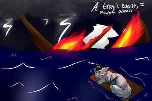 A tragic event, I must admit by Darkstar-The-Great