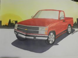Chevy Pick up by Rookie77