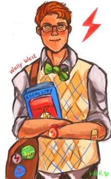 Wally West is a dork, not Kid Flash! by CrazedPochamaXD