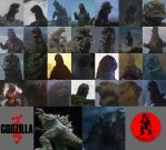 All 30 Godzilla designs by Awesomeness360