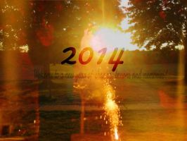 2014 Happy Wallpaper by LivelovelifeEleni
